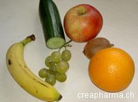 fruits - légumes prévention rhume