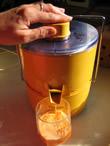 jus de carotte - centrifugeuse
