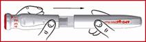 APO-go® 10 mg/ml, solution injectable en stylo