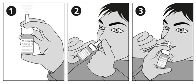 Mométasone Spirig HC, Spray doseur nasal 1