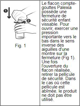 Palexia® 20 mg,ml solution tableau 1