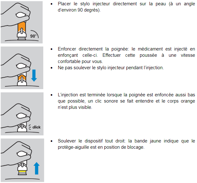 Pelgraz® solution injectable en stylo injecteur prérempli image 3