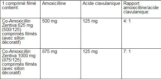Co-Amoxicillin Zentiva®